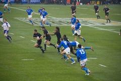 Italy - All Blacks stock photo