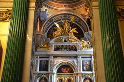 Italy also great cathedral engravings Stock Photo