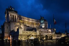 Altare della Patria History City Rome Empire royalty free stock images