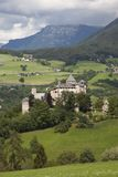 Italy,Alto Adige, Fiè am Sciliar, Presule castle. Italy,Alto Adige, Fiè am Sciliar village, the Presule castle royalty free stock photography