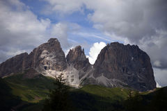 Italy, Alto Adige, Naturno village. Italy, Alto Adige, Dolomite mountain stock photo