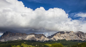 Italy, Alto Adige, Naturno village. Italy, Alto Adige, Dolomite mountain royalty free stock image