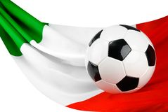 Italy ama o futebol fotografia de stock royalty free