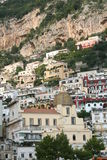 Italy. Amalfi coast. Positano Cathedral Royalty Free Stock Photos