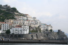 Italy. Amalfi resort Stock Photos