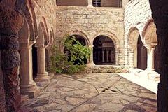 Italy, ancient monastery Royalty Free Stock Image