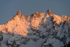Italy, Aosta Valley, mountainscape Stock Images