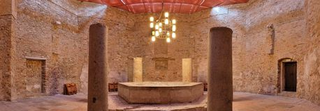 Italy, Aquileia Baptistery Stock Images