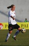 Italy - Austria, female soccer U19; friendly match Stock Image