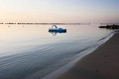 Italy, beach on adriatic sea Royalty Free Stock Photo