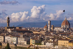 Italy. Beautiful views of Florence, Cathedral Santa Maria del Fiore. Stock Photo