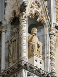 italy Bergamo Citta Alta Arkivfoton