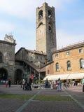 Italy. Bergamo Alta Stock Images