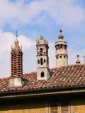 Italy. Bergamo. Città Alta Stock Photos