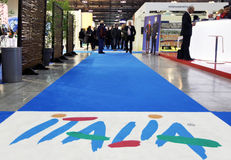 Italy at BIT 2013 Stock Photo