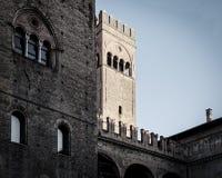 Italy, Bologna King Enzo palace Stock Image