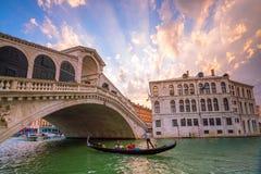 italy bridżowy kantor Venice Zdjęcia Stock