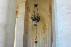 Italy building and lamp royalty free stock photo