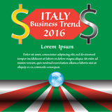 Italy Business trend in the year 2016 Royalty Free Stock Images