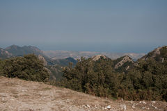Italy Calabria Aspromonte - Panorama Stock Images