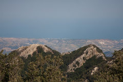 Italy Calabria Aspromonte - Panorama Stock Photography