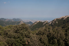 Italy Calabria Aspromonte -Panorama Royalty Free Stock Image