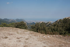 Italy Calabria Aspromonte - panorama Royalty Free Stock Photography