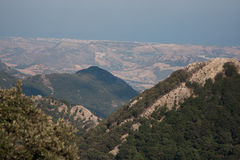 Italy Calabria Aspromonte - Panorama Royalty Free Stock Image