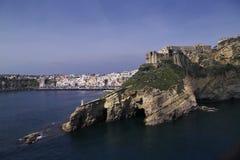 ITALY, Campania, console de Procica, Fotos de Stock Royalty Free