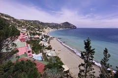 ITALY, Campania, console dos ísquios imagens de stock royalty free