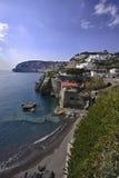 ITALY, Campania, console dos ísquios, S.Angelo Fotos de Stock