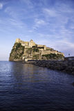 ITALY, Campania, Ischia island,. Ischia Ponte, Castel S.Angelo (aragon fortress Royalty Free Stock Photography