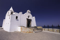 ITALY, Campania, Ischia island. Forio, an old church by the seaside Royalty Free Stock Photography
