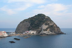 Italy. Campania. Ischia Island. Sant-Angelo Royalty Free Stock Photography