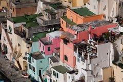 Italy-Campania-procida-Corricella Stock Image