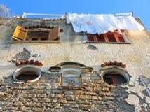 Italy. Campania region. Procida island. Mediterranean stone hous Stock Image