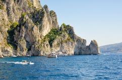Italy, capri Imagem de Stock