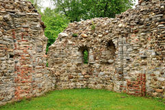 Italy Castelseprio ruins UNESCO Stock Images