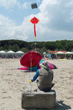 Italy, Cervia, international festival of kites Royalty Free Stock Photos