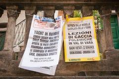 Italy., Cinque Terre. Stock Photo