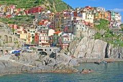 Italy. Cinque Terre. Manarola Stock Image