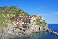 Italy. Cinque Terre. Manarola Stock Photos