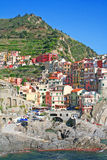Italy. Cinque Terre. Manarola Royalty Free Stock Photography