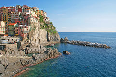 Italy. Cinque Terre region. Manarola Royalty Free Stock Photo