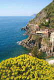 Italy. Cinque Terre. Riomaggiore Stock Photos