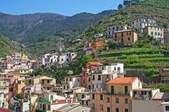 Italy. Cinque Terre. Riomaggiore Royalty Free Stock Images