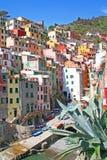 Italy. Cinque Terre. Riomaggiore Stock Photography