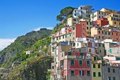 Italy. Cinque Terre. Riomaggiore Stock Images