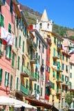 Italy. Cinque Terre. Riomaggiore Stock Image