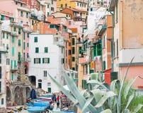 Italy, Cinque Terre. Stock Images